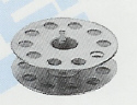 10 Pack of Industrial Bobbins #210530 Click for model info.
