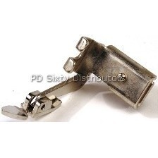 (Slant) All Metal Adjustable Hinged Zipper Foot with Shank (# 161166) Click for model info.