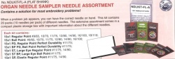 Super Needle Assortment  200 Needles #  NDLKIT- FL-A  15X1  For any sewing job, you can have the right needle you need.