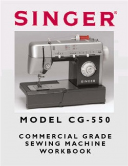 Singer CG550 Workbook (49 Pages)