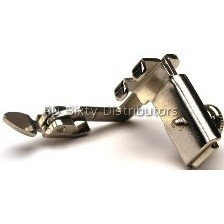 (High) All Metal Adjustable Hinged Zipper Foot # 1806 Click for model info.