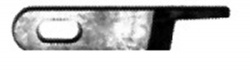 Upper Knife # 144074-001, # 144074-0-01