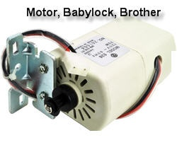 Motor, Babylock, Brother XA3332051, XA3332151, XA3332251