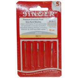 Singer 2001  Needles - Chromium 2001 - Size 11   Pack 5